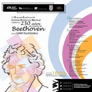 Celebración por el 250 natalicio de Ludwig Van Beethoven