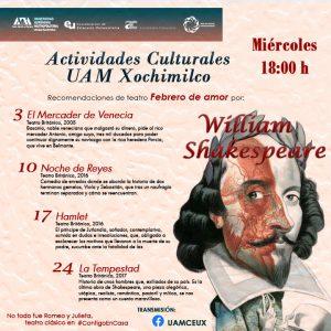 Teatro clásico William Shakespeare, no todo fue Romeo y Julieta