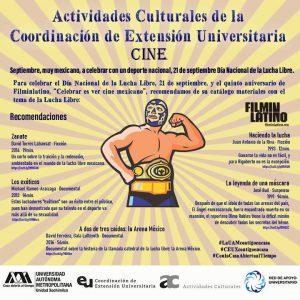 Ciclo Lucha Libre en el cine